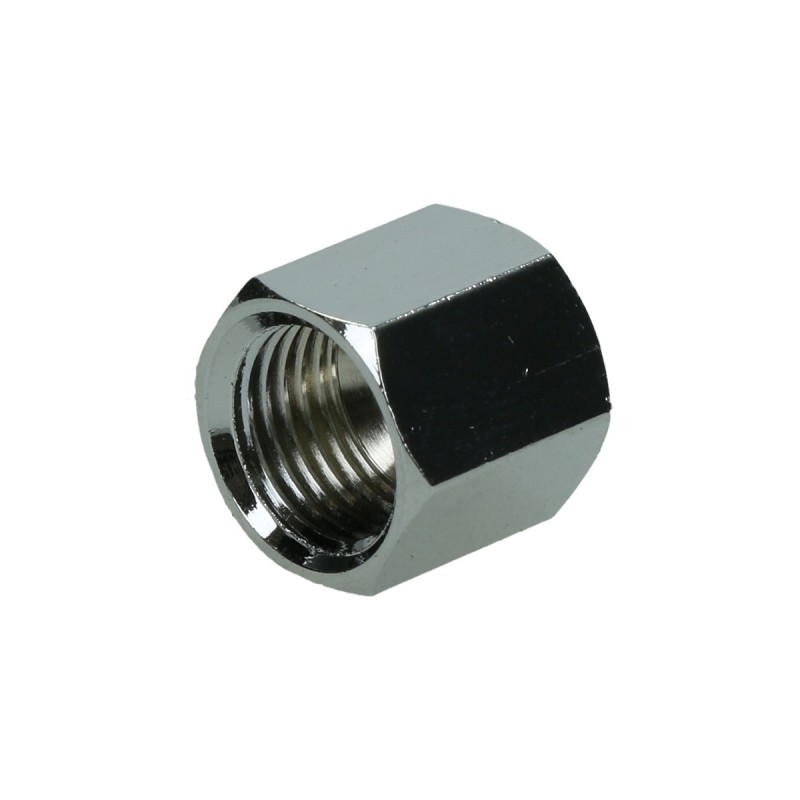 LG Connector Assy NUT (Connects Plastic Water Tube to Fridge) - 6631JA3003D