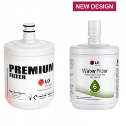 LG LT500P / LT500PC Replacement Refrigerator Water Filter (Part Number 5231JA2002A)
